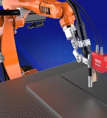 机器人激光跟踪焊接系统